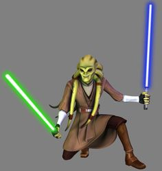 Kit Fisto was a renowned male Nautolan Jedi Master in the waning years of the… Galactic Republic, Ewok, Star Wars Clone Wars, Star Wars Episodes, Music Tv, Feature Film, A Team, Princess Zelda, Kit