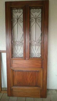 porta de madeira de demolição peroba rosa 1 folha 2.24x0.90