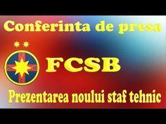 Conferinta de presa FCSB ( Steaua ) : Prezentarea noului staf tehnic