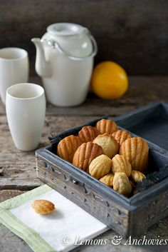 orange cardamom ice cream glazed madeleines orange cardamom madeleines ...