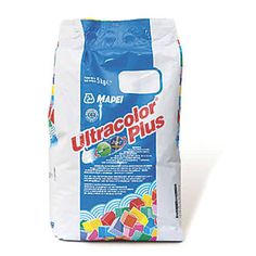 Mapei Ultracolor Plus Grout White 5kg | Wall Tile Adhesive & Grout | Screwfix.com