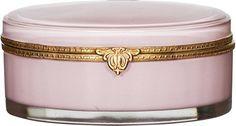 Pink & Gold Glass Box