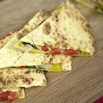 Forks Over Knives | Recipes - Caramelized onion quesadillas