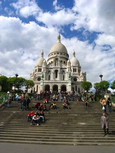 Sacre Coeur, Montmatre, Paris
