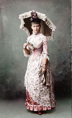 Ella, Elisabeth de Hesse, soeur d'Alexandra - Romanov