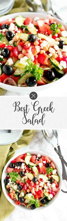 Greek Salad via @NeliHoward