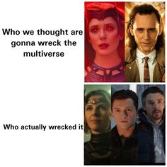 Who wrecked the multiverse!?