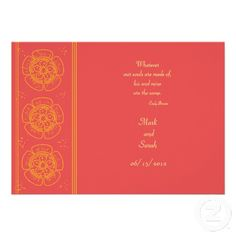 49 Best Hot Pink And Orange Wedding Invitations Images Bridal