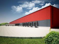 Resultado de imagen de logistic center fachada