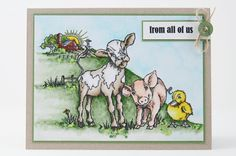My Noteworthy Cards: Stampendous Sneak Peeks From All of Us