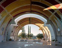 inside arcosanti: paolo soleri's experimental desert town