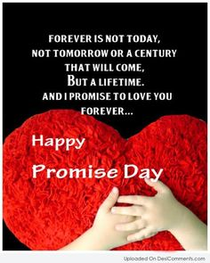 Happy Promise Day- Get the Romantic collection of Promise Day Quotes, Promise Day Images, Wishes and Message wallpapers to share with your beloved on this Promise Day Happy Promise Day Wallpapers, Happy Promise Day Image, Promise Day Images, Wish Quotes, Love Me Quotes, True Quotes, Wishes Messages, Love Messages, Morning Messages