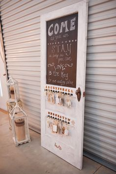 Shabby Chic vintage exterior door wedding by ShabbyChicbyCJ, $175.00