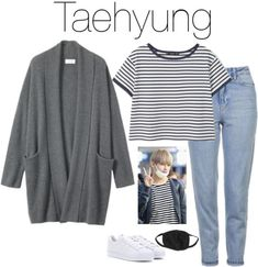Want these korean fashion outfits 5624100144 Kpop Fashion Outfits, Fashion Mode, Mode Outfits, Fall Outfits, Casual Outfits, Summer Outfits, Korean Outfits Kpop, Korean Fashion Kpop Bts, Trendy Fashion
