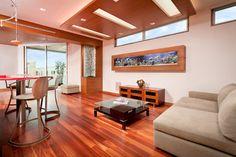 Aquarium - Manhattan Beach - contemporary - living room - los angeles - Lapis Design Partners