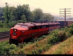 RailPictures.Net Photo: LV 606 Lehigh Valley ALCO PA1 at Smithboro, New York by Donald Haskel Black N White Images, Black And White, Pennsylvania Railroad, Work Horses, Train Pictures, Lehigh Valley, Modern Artists, Color Photography, Locomotive