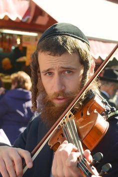 If youve stopped by the shuk (machane yehuda), you may have heard this mans beautiful music. (Humans of Jerusalem)