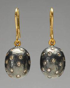 """Yossi Harari """"Roxanne"""" Diamond Drop Earrings  $3550"""