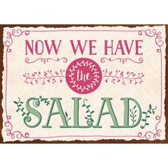 Now we have the salad/Bild1
