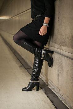 Des bottes très félines avec notre bijou de bottes Laura.
