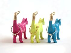 Plastic animal ring holder DIY