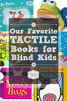 Our Favorite Tactile Books for Blind Kids These are our favorite tactile books for kids who are blind and they go way beyond the simple touch-and-feel books! Tactile Activities, Learning Activities, Touch And Feel Book, Sensory Book, Up Book, Student Teaching, Children's Literature, Kids Reading, Animals For Kids