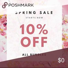 Spring Sale 🌷🌸🌺🌷 10% On All Bundles‼️ Other