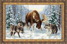 Zestawy z muliną - Zolotoe Runo - Cross Stitch Kits - Zwierzęta - Gvello Stitch
