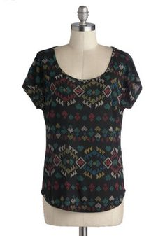 Before the Fete Top, #ModCloth