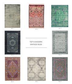 Studio McGee's Top 8 Modern Vintage Rugs