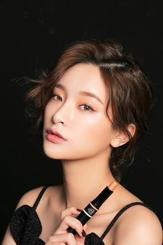 Byun Jungha - Byeon Jeongha - Model - Korean Model - Ulzzang - Stylenanda Asian Makeup, Korean Makeup, Korean Beauty, Asian Beauty, Korean Skincare, Mode Ulzzang, Ulzzang Girl, Fresh Makeup Look, Makeup Looks