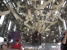 Image result for church trap burning man