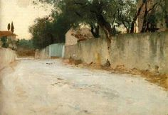 John Singer Sargent - A Road in the South