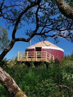 Luxury Yurt Glamping Luxury Yurt, Yurts, Donegal, Glamping, Acre, Gazebo, Outdoor Structures, Cabin, House Styles