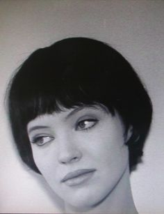 Anna Karina (b. 1940) She is known as a muse of the director Jean-Luc Godard,