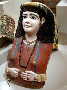 Neues Museum mummy mask
