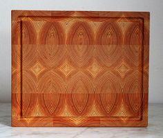 Ein wunderbares Hirnholz-Küchenbrett aus dem Holz der Douglasie