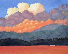 New Mexico clouds by Gary Coleman