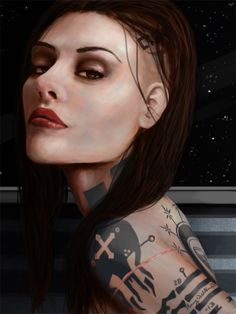 Jack - Mass Effect by AmyWilkins.deviantart.com on @deviantART