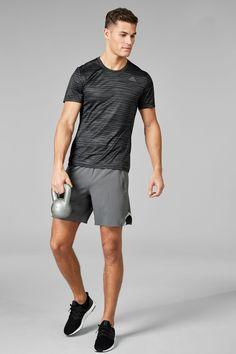 Buy adidas Run Black Stripe Response T-Shirt from the Next UK online shop
