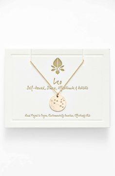 Main Image - Ija 'Small Zodiac' 14k-Gold Fill Necklace