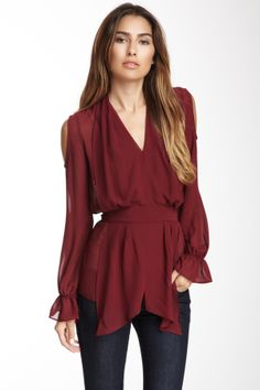 Walter Lana Blouse! Would look pretty with black leggings!