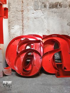 I am in awe of these red letters check out this blog | It's my visual life - Paulina Arcklin