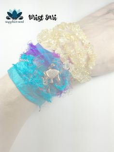 Wrist saris coming to the large Sapphire Soul box for December! www.sapphiresoul.com