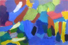 Bumble Buzz, 2013, oil on canvas, 80x120cm.  Hilde Skilton