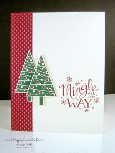 23k best handmade christmas cards images on pinterest christmas happily ever crafter mingle all the way festival of trees simple christmas card m4hsunfo