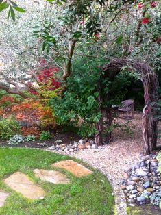 Eclectic Home landscape garden Design Ideas, Pictures, Remodel and Decor