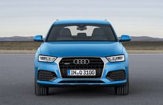 The new Audi Q3 front on