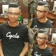 Great Haircuts, Haircuts For Men, Slicked Hair, Hair Pomade, Slick Hairstyles, Greaser, Men's Hairstyle, Pompadour, Gentleman