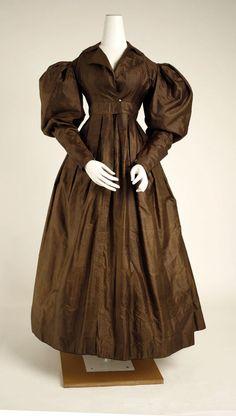 Dress (French) ca. 1823 silk